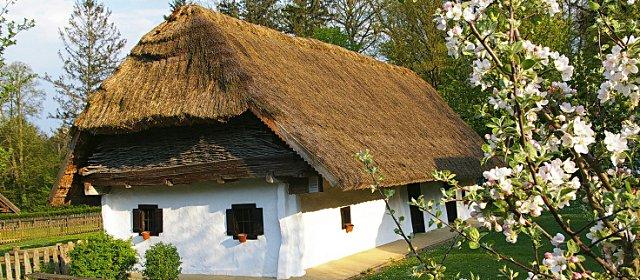 Bauernhaus im Freilichtmuseum Bad Tatzmannsdorf
