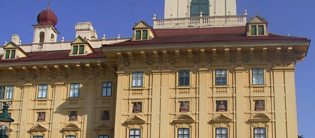 Ausschnitt von Schloss Esterhazy in Eisenstadt