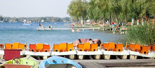 Bootsverleih am Neufelder See