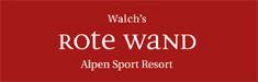Logo Walchs Rote Wand Alpen Sport Ressort