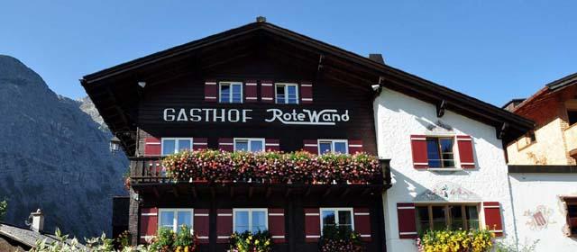 Außenansicht von Walchs Rote Wand Alpen Sport Ressort