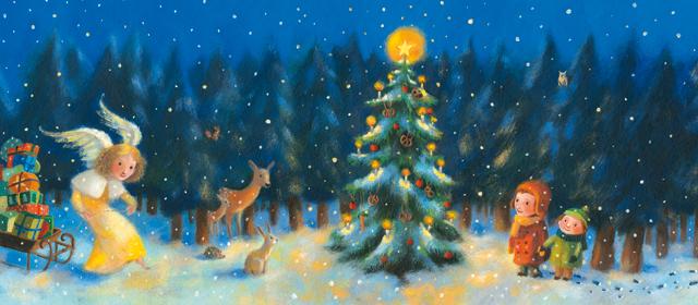 Sonnentor Weihnachtsjarte