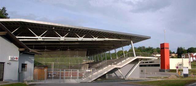 Eishalle in der Marktgemeinde Velden am Wörthersee