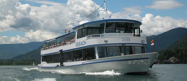 Ossiachersee Schifffahrt