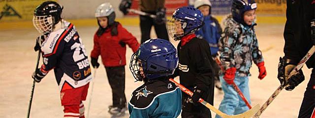 Kindereishockey Eishalle Ossiachersee