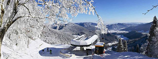Panorama Schneeberg