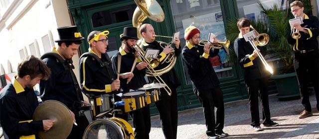 Drum Brass Kollektiv am Höfefest in St. Pölten