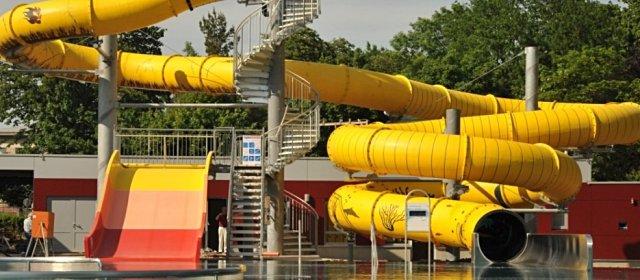 citysplash - Rutsche im Sommerbad in St. Pölten