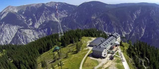 Luftbildaufnahme Rax