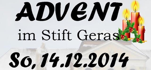 Adventmarkt im Stift Geras