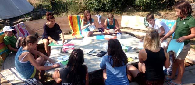Feriencamp für Kreativlinge von Johanna Part