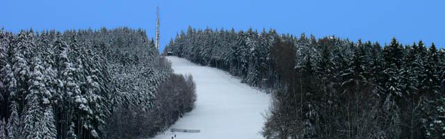 Panorama Frauenstaffel Schlepplift