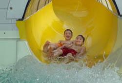 Wasserrutsch Hallenbad Ysterpal
