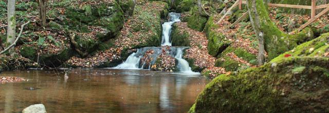 Wasserfall in der Ysperklamm