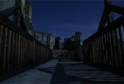 Ruinie Kollmitz in der Nacht © Mayer Fritz