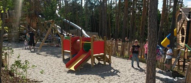 Spielplatz in den Kittenberger Erlebnisgärten in Schiltern