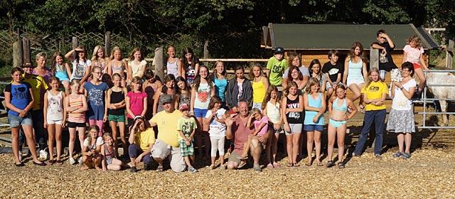 Sommercamp am Reiterhof Obergrünbach