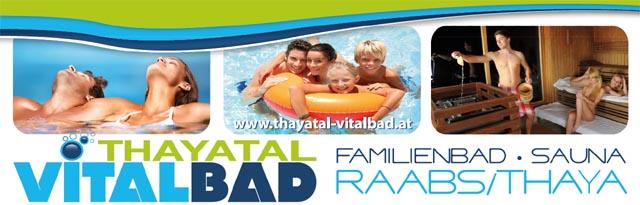 Vitalbad Thayatal Wellnessoase Raabs an der Thaya