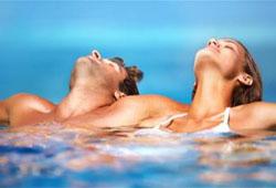 Relaxen im Bad