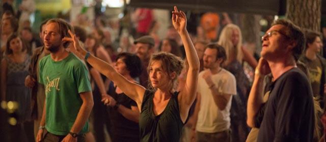 Tanzen am Wackelsteinfestival in Amaliendorf