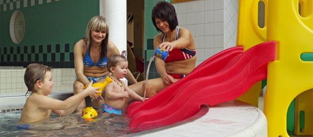 Kinderbecken im Hallenbad Yspertal