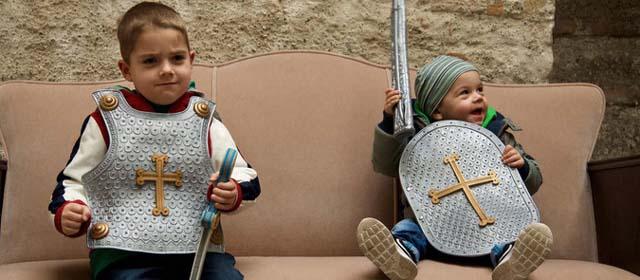 Kindergeburtstag auf der Burgruine Markgrafneusiedl feiern