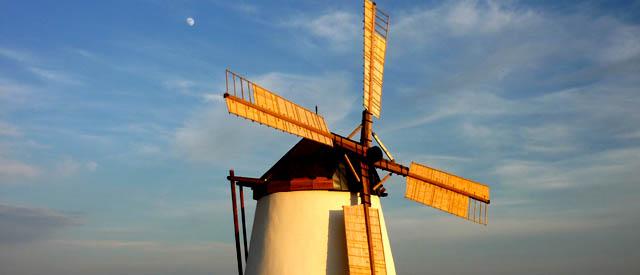 Panorma Retz - Windmühle