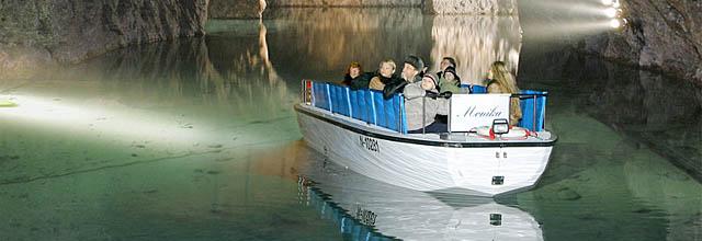 Bootsfahrt in der Seegrotte Hinterbrühl