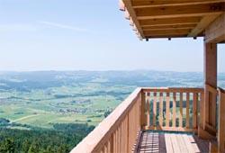 Alpenblick Schöneben vom Aussichtsturm