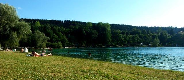Am Baggersee in Regau