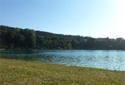 Am Baggersee in Regau