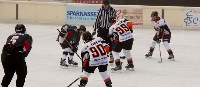 Eishockey am Eislaufplatz Kirchdorf