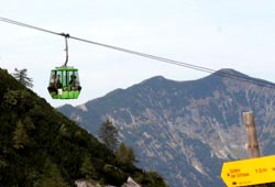 Katrin-Seilbahn in Bad Ischl