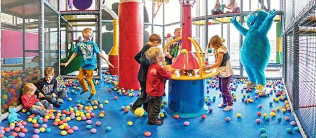 Action im Planet Lollipop in der Weberzeile in Ried im Innkreis