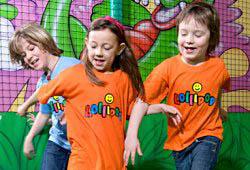 Kindergeburtstag im Lollipop, Atrio