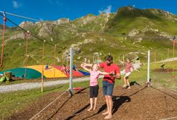 Spielplatz und Slacklinepark Schlossalm