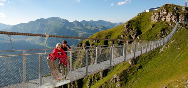 Hängebrücke am Stubnerkogel Gastein
