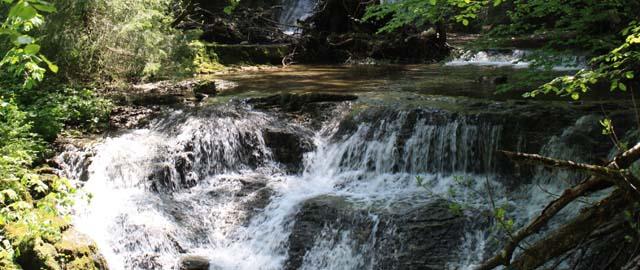 Glasenbachklamm Wasserfall