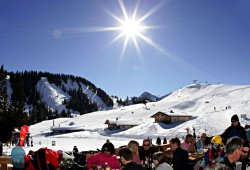 Skigebiet in Lofer