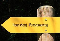 Panoramaweg Haunsberg