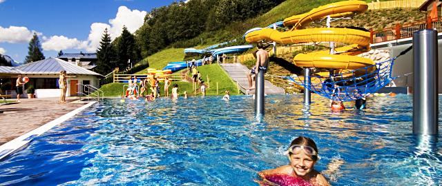 Schwimmbad in Saalbach Hinterglemm