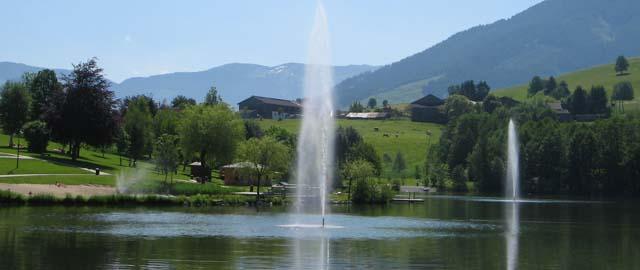 Freizeit am Ritzensee in Saalfelden