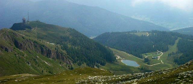 Großeck Speiereck Aussicht vom Gipfel bei Mauterndorf
