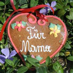 Muttertag - ein Herz für Mama