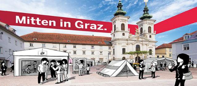 Ausstellung in Graz von Ärzte ohne Grenzen
