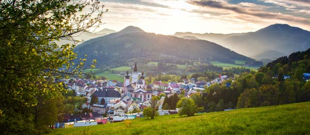 Frühling in Mariazell