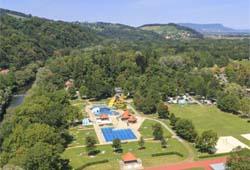 Freibad Leibnitz - Luftbild