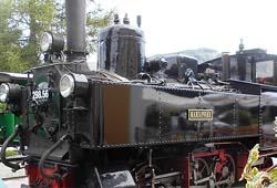 Dampflok 298.56 der Murtalbahn