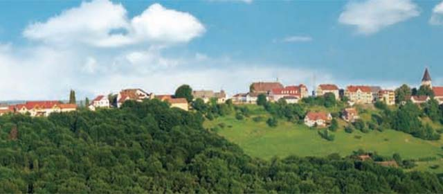 Panorama am Weinweg der Sinne in St. Anna am Aigen