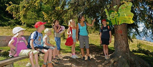 Kinder im Lauserland am Wiedersbergerhorn